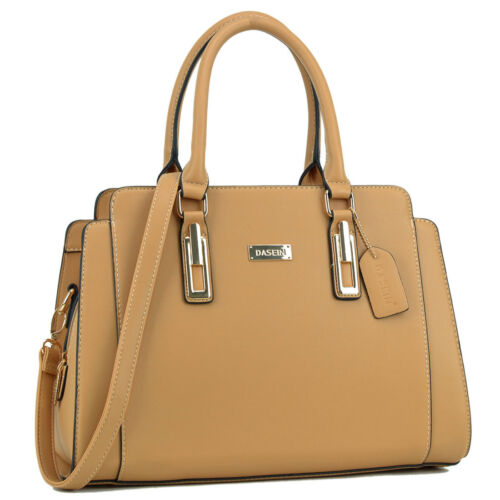 Dasein Women Handbags Candy-Colored Work Satchel Bags Tote Bag Large Purse 3a9a502e7ddca