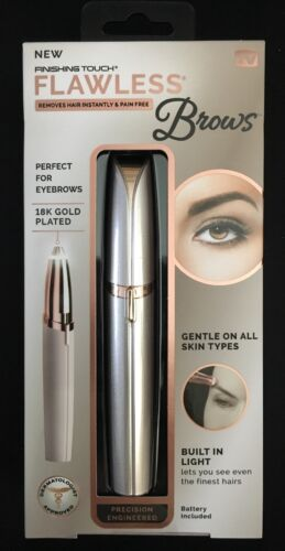 ❤️Finishing Touch Flawless Brows Eyebrow Trimmer As Seen On TV - New❤️