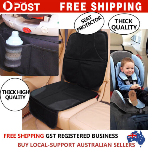 AU Waterproof Car Seat Protector Non-Slip Child Safety Mat Cushion Cover