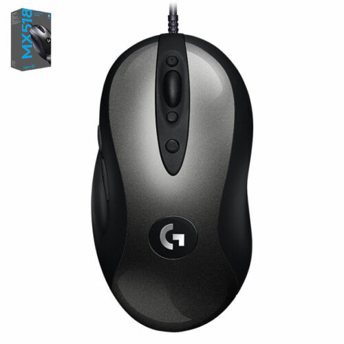 Logitech MX518 Legendary FPS Gaming Mouse 16000 DPI 8 Programmable Buttons