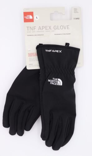 THE NORTH FACE APEX GLOVES GANTS WOMEN GUANTES SIZE L BLACK NEW