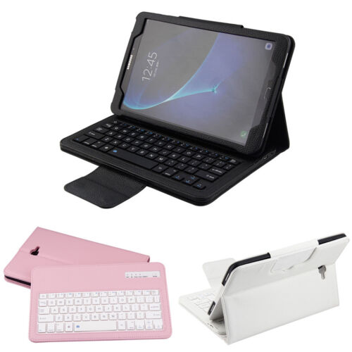 Bluetooth Keyboard Leather Stand Case For Samsung Tab A A6 10.1 T580 T585 Tablet