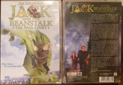 JIM HENSON'S JACK AND THE BEANSTALK REAL STORY RARE DELETED DVD MATTHEW MODINE