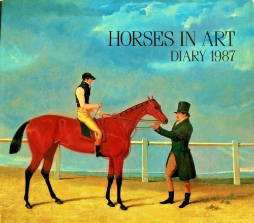HORSES IN ART DIARY 1987 VINTAGE IN BOX