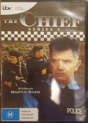 THE CHIEF SERIES 5 RARE DELETED DVD FIFTH SEASON BRITISH TV SHOW MARTIN SHAW OOP
