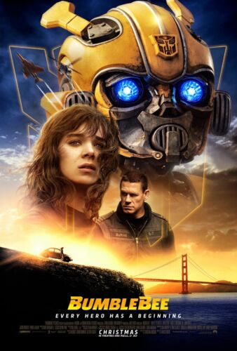 New Bumblebee Transformers spin off movie Poster High Quality wall poster