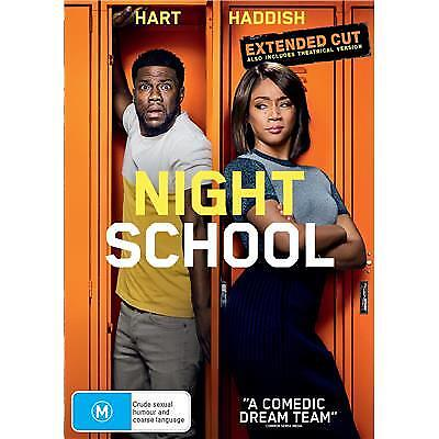 NIGHT SCHOOL DVD, NEW & SEALED, PRE RELEASE, FREE PRIORITY POST