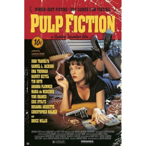 Pulp Fiction - Classic Movie Poster 24x36 - Tarantino Thurman 16593