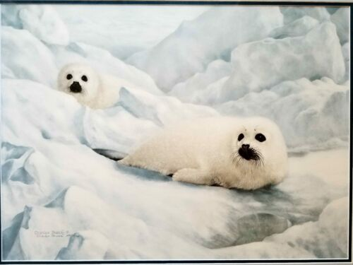 """Charles Frace """"Peace on Ice"""" limited edition"""