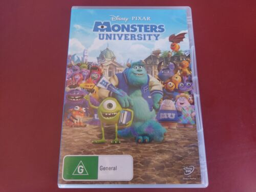 DISNEY PIXAR MONSTERS UNIVERSITY  - DVD - FREE POST