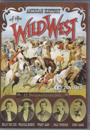 American History Of The Wild West - DVD (2xDVD All Regions PAL)