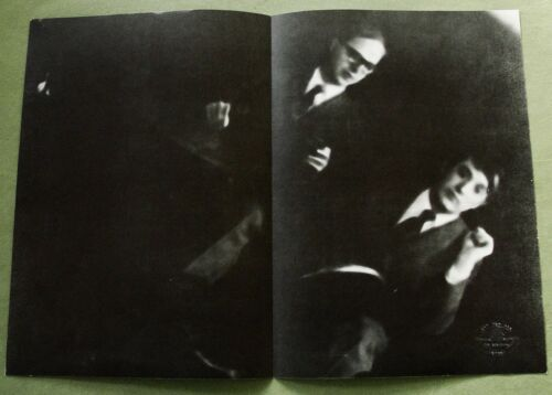 Gilbert & George 1974:  Art & Project Bulletin 73;  800 copies,  with blindstamp