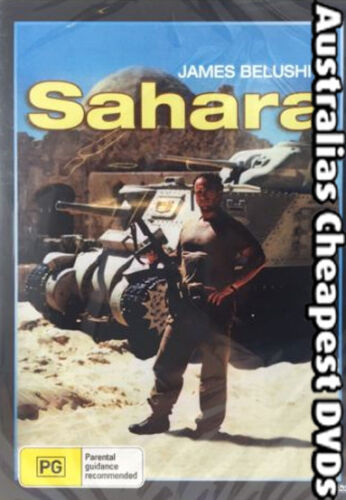 Sahara (John Belushi) DVD NEW, FREE POSTAGE WITHIN AUSTRALIA REGION ALL