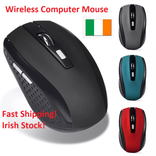 Wireless Mice Computer Gaming Mouse 2.4GHz Pro Gamer For PC Laptop Macbook Apple
