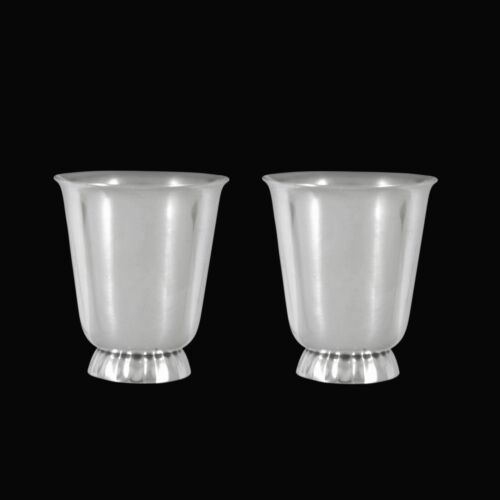 Georg Jensen. A pair of Sterling Silver Cocktail Cups - Sigvard Bernadotte