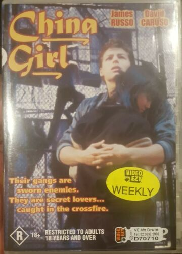 CHINA GIRL RARE DELETED OOP DVD REGION 4 FILM JAMES RUSSO, DAVID CARUSO MOVIE XR