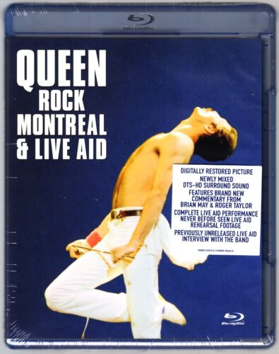QUEEN ROCK MONTREAL AND LIVE AID  BLU RAY