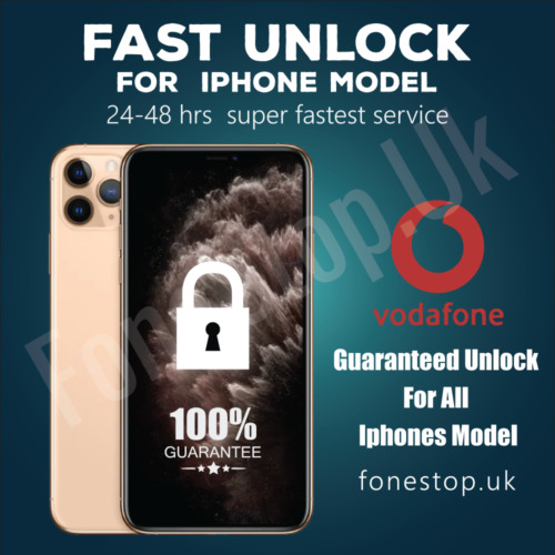 Vodafone Express Unlock Code service iPhone 8,7,7+ 6S 6 5S 5C 5 SE 4✅24-48 Hours <br/> ✔ 24-48 Hours  ✔ Express Unlock ✔ Reliable Source