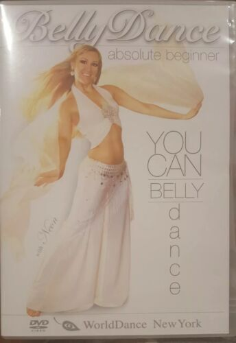 YOU CAN BELLYDANCE ABSOLUTE BEGINNER RARE DVD INSTRUCTIONAL VIDEO BELLY DANCE