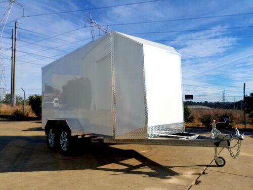 3.6m  ALUMINUM ENCLOSED VAN TRAILER- FINANCE AVAILABLE $71 p/week for 4 years