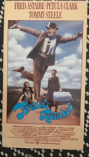 FINIANS RAINBOW FRED ASTAIRE PETULA CLARK AS NEW NTSC VHS VIDEO FOR USA PLAYERS