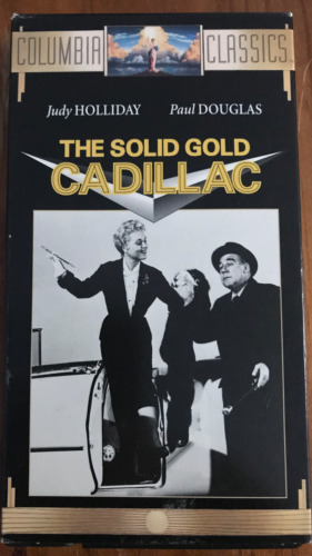 THE SOLID GOLD CADILLAC JUDY HOLLIDAY  RARE NTSC VIDEO FOR USA PLAYERS