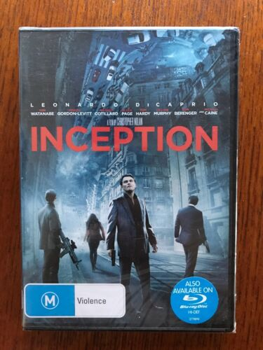 Inception DVD Region 4 New & Sealed