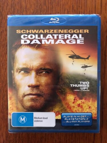 Collateral Damage Blu-ray Region Free New & Sealed