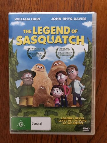 The Legend Of Sasquatch DVD Region 4 New William Hurt / John Rhys-Davies