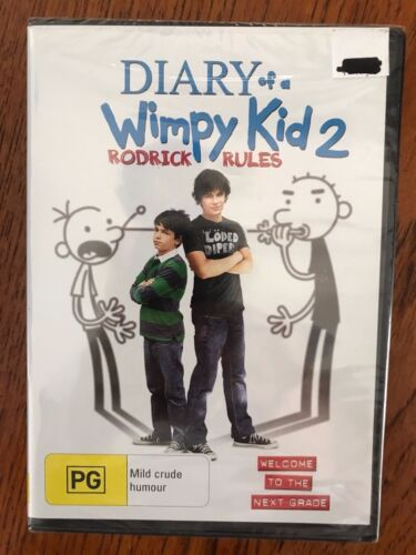 Diary Of A Wimpy Kid 2 DVD Region 4 New & Sealed