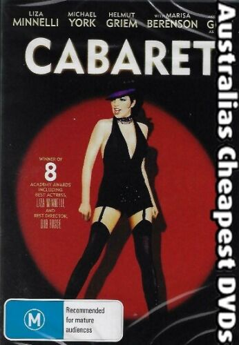 Cabaret  DVD NEW, FREE POSTAGE WITHIN AUSTRALIA REGION ALL