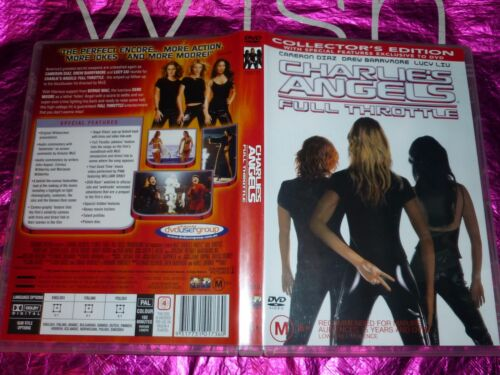 CHARLIE'S ANGELS FULL THROTTLE  (DVD, M) (122881 / 131193)A
