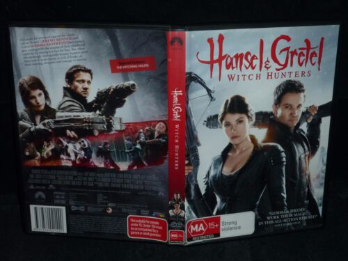HANSEL & GRETEL WITCH HUNTERS (DVD, MA 15+)