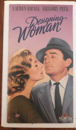 DESIGNING WOMAN LAUREN BACALL GREGORY PECK AS NEW NTSC VHS VIDEO 4 USA PLAYERS