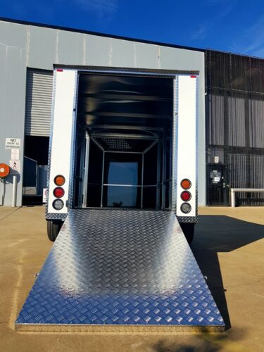 3.6m ALUMINUM  ENCLOSED TRAILER- FINANCE AVAILABLE $71 p/week for 4 years