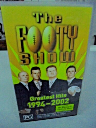 The FOOTY Show Greatest Hits 1994 - 2002- Includes making of the footy show
