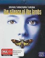 THE SILENCE OF THE LAMBS BLU RAY - NEW & SEALED ANTHONY HOPKINS, JODIE FOSTER
