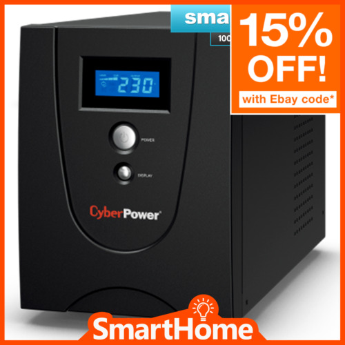 CyberPower Value 2200VA SOHO Line Interactive UPS 4 Outlets Power Supply Surge