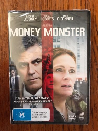 Money Monster DVD Region 4 New & Sealed