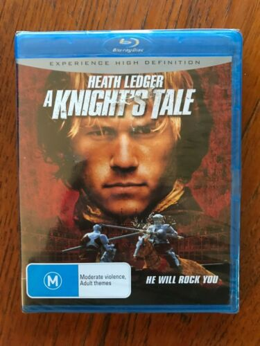 A Knight's Tale Blu-ray Region Free New & Sealed Heath Ledger