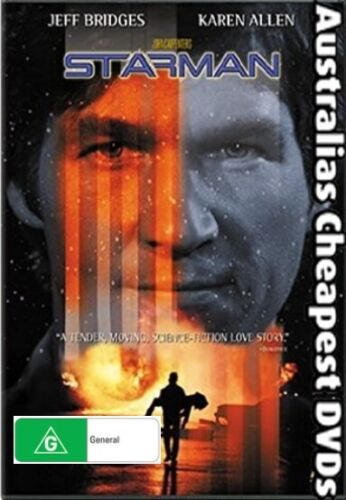 Starman DVD NEW, FREE POSTAGE WITHIN AUSTRALIA REGION ALL