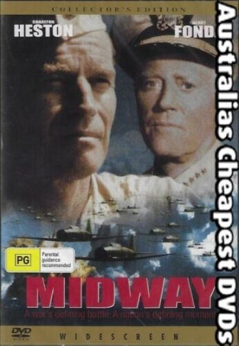 Midway DVD NEW, FREE POSTAGE WITHIN AUSTRALIA REGION ALL