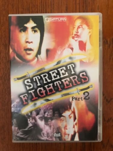 Street Fighters Part 2 DVD Region All Disc VGC Like New