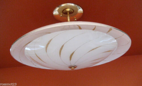 Vintage Lighting Mid Century Modern ceiling fixture. I HAVE MORE!