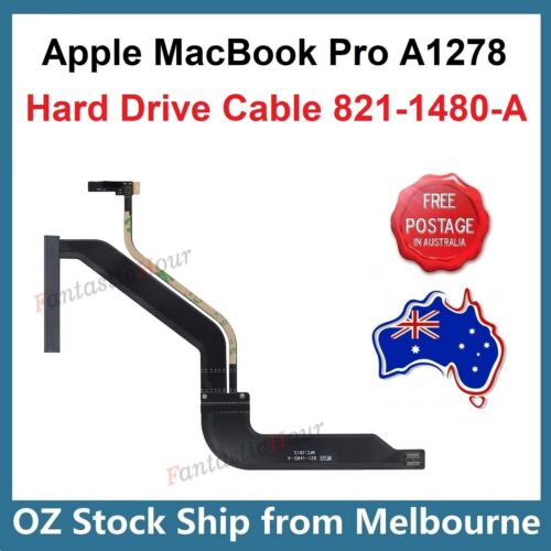 """Hard Drive HDD SSD Cable 821-1480-A For Apple MacBook Pro 13"""" A1278 Unibody 2012"""