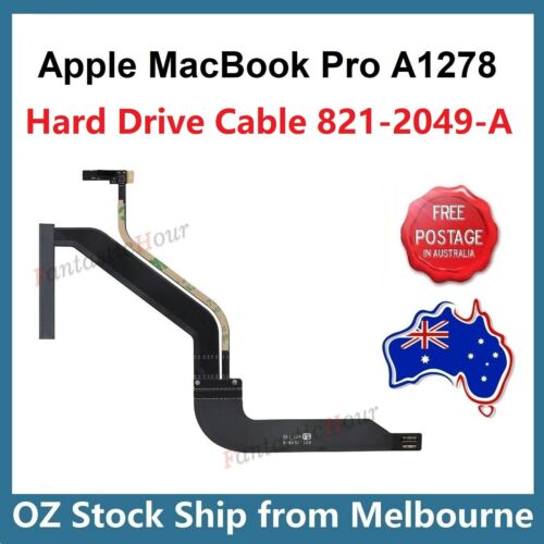 """HDD Hard Drive Flex Cable 821-2049-A for Apple MacBook Pro 13"""" A1278 Mid 2012"""