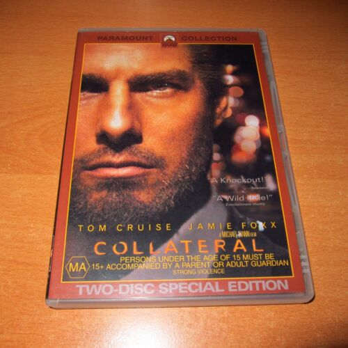 COLLATERAL - 2 DISC DVD ( Region 4 ) * Excellent *