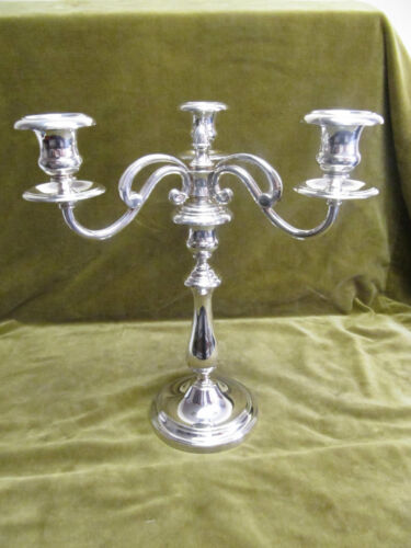 french silverplate christofle candelabra 3 branches albi near mint condition
