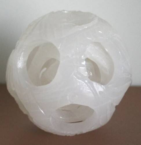 Unique Chinese Nephrite Jade Ball with 3 Movable Layers