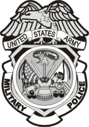 Address Labels - Military Police - US Army (MP Badge)Other Militaria - 135